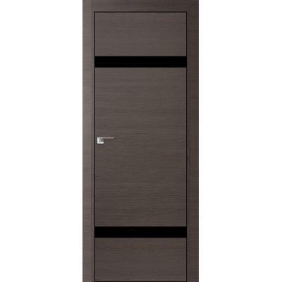 3Z черный лак 800*2000 Грей кроскут хром черная с 4-х сторон