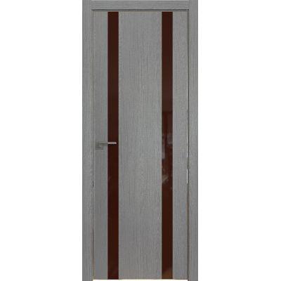 9ZN коричневый лак 800*2000 Грувд хром с 4-х сторон
