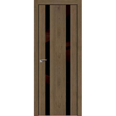 9ZN коричневый лак 800*2000 Дуб салинас темный хром черная с 4-х сторон