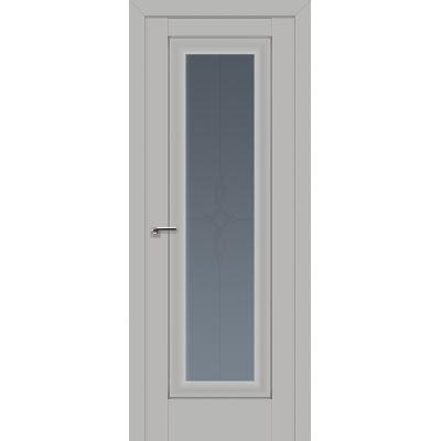 24U графит узор 800*2000 Манхэттен серебро люкс