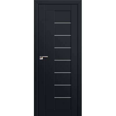 17U триплекс белый 800*2000 Черный матовый в цвет полотна