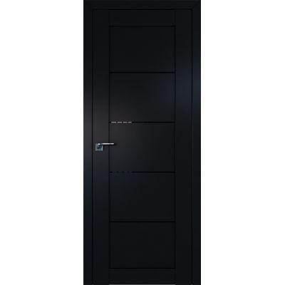 2.11U триплекс черный 800*2000 Черный матовый