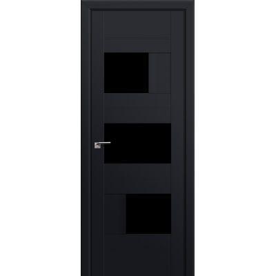 39U триплекс черный 800*2000 Черный матовый в цвет полотна