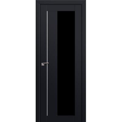 47U триплекс черный 800*2000 Черный матовый AL