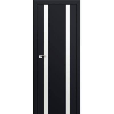 63U белый лак 800*2000 Черный матовый