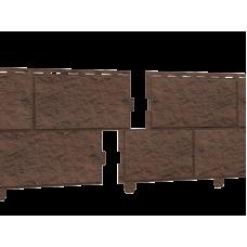 Сайдинг Стоун Хаус камень жженый (двойной замок)